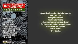 Sirkus Barock - Balada Penganggur / Album 10 Bintang Nusantara 1988 (Lirik)