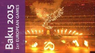 Closing Ceremony Best Images   Baku 2015 European Games