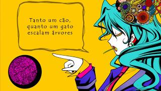 Hatsune Miku  - This Fucked-Up Wonderful World Exists For Me (Vocaloid Brasil)