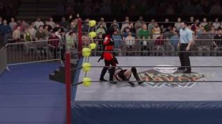 WWE 2K17 Cassie Hack vs. Purgatori - Extreme Rules