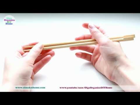 Как правильно держать китайские палочки видео
