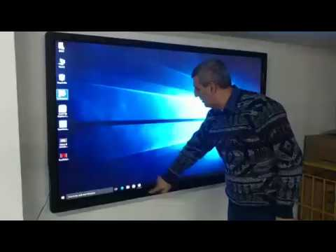 "BenQ RP790 Interactive Flat Panel 79"", 10-Point Multi-Touch Interactivity"