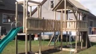 видео Купить детские игровые площадки для дачи и улицы