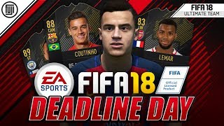 FIFA 18 #DEADLINEDAY INSANE CONFIRMED TRANSFERS!!! + RUMOURS!!! - FIFA 18 Ultimate Team