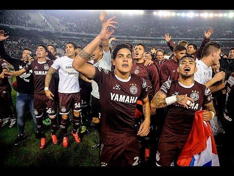 Lanús aplastó a San Lorenzo y se consagró campeón del torneo de Primera División