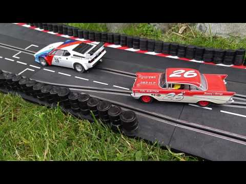 Urethane Tire Wall Developed by Slot Car Space Solutions Pt1