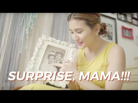 Surprise for Mama!!! (I sing in this video)