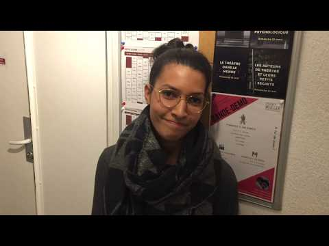 Ludivine, élève comédienne au Studio Muller