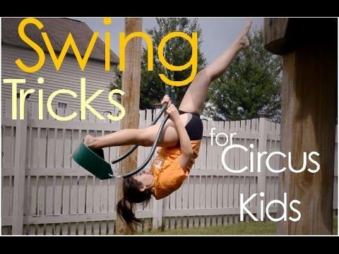 Swing Tricks for Circus Kids