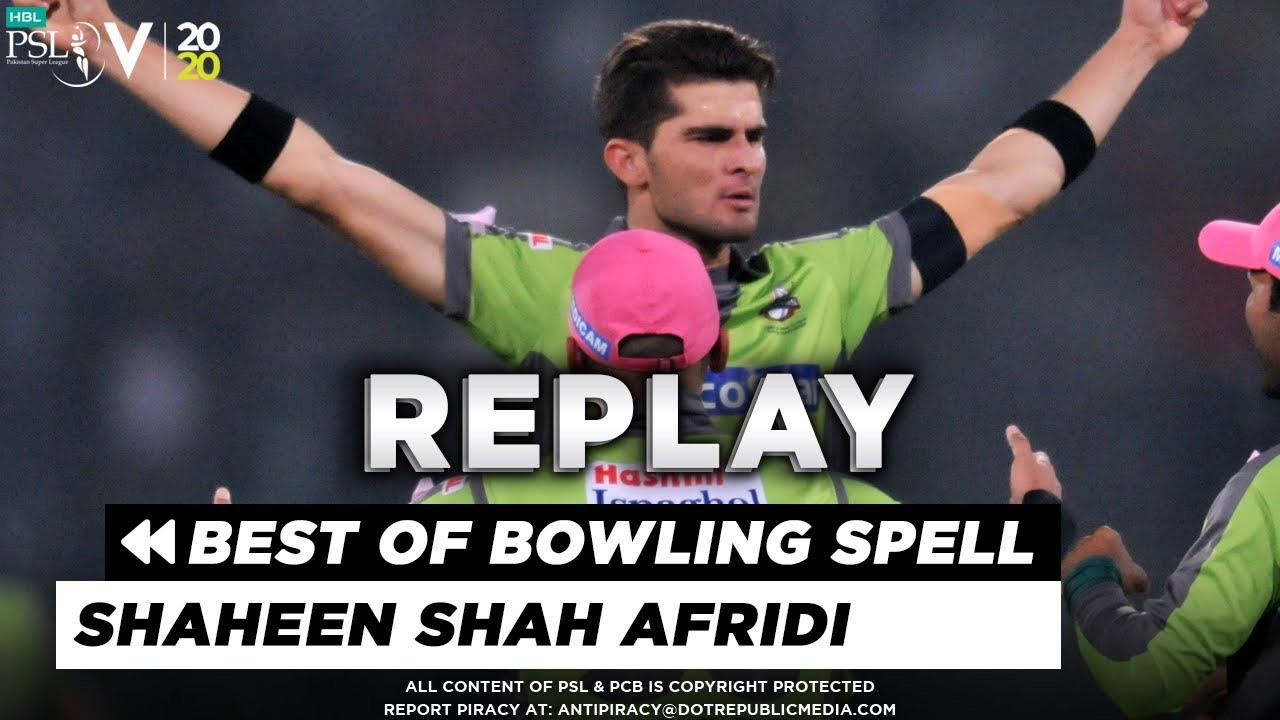Best Of Shaheen Shah Afridi Bowling Spell in HBL PSL 5 So Far | HBL PSL 2020