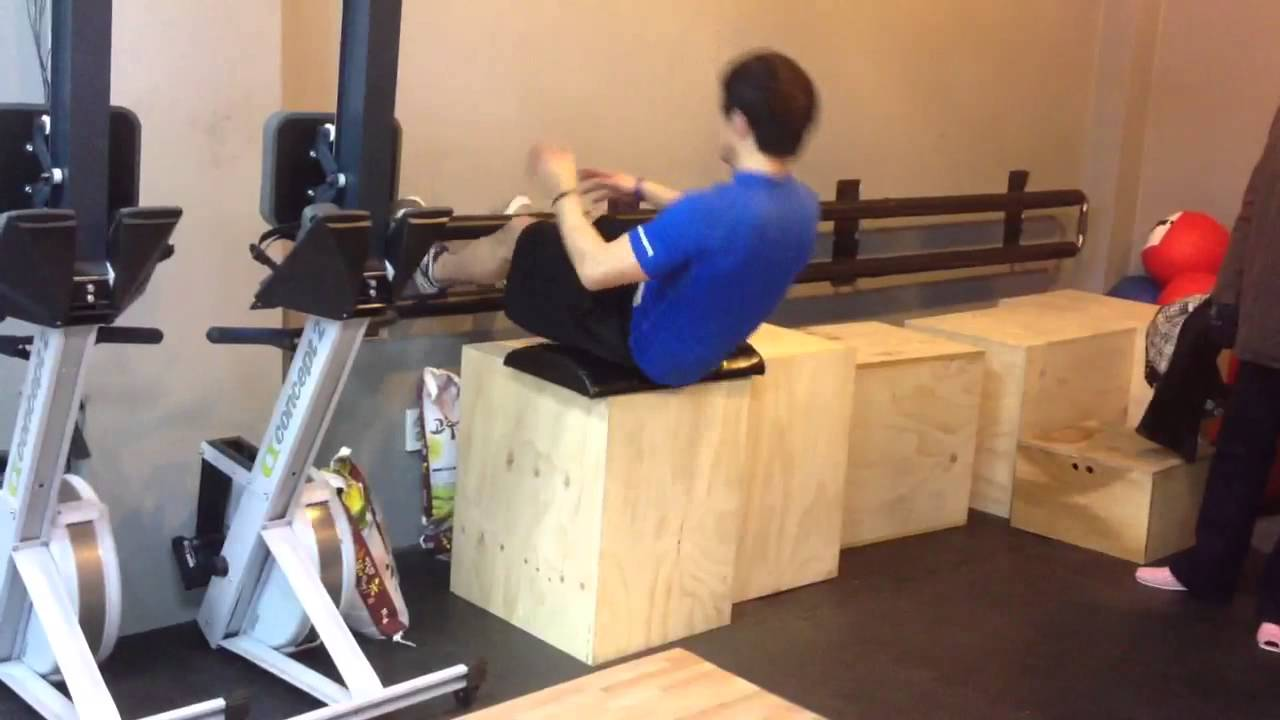 ILC's style GHD sit up - YouTube