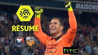 SM Caen - FC Lorient (3-2)  - Résumé - (SMC - FCL) / 2016-17