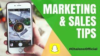 Sales & Marketing Tips