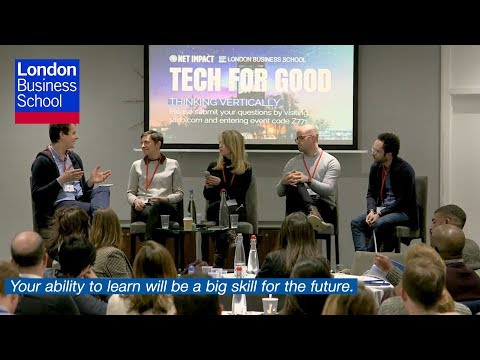 THINKING VERTICALLY: COMPARING TECH FOR GOOD ACROSS INDUSTRIES | London Business School