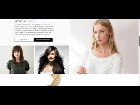 Lighthouse Salon in Wausau WI Web Design Project | Overflow Local