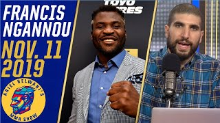 Francis Ngannou is impressed by the Tyson Fury footage, wants to face him | Ariel Helwani's MMA Show