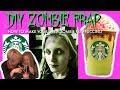 How to Make a STARBUCKS *ZOMBIE*💀💀 FRAPPUCCINO I DIY I How to Cook Craft & Cake It