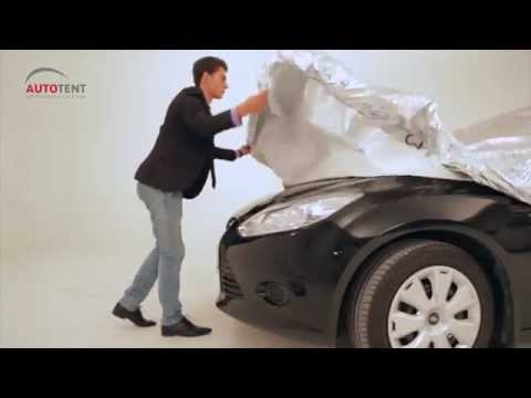 Sun Protection Car Cover Sedan Instructions Youtube