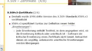 Informationssicherheit (SS 2013),  Digitale Zertifikate