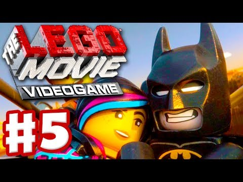 The LEGO Movie Videogame - Gameplay Walkthrough Part 5 - Batman! (PC, Xbox One, PS4)