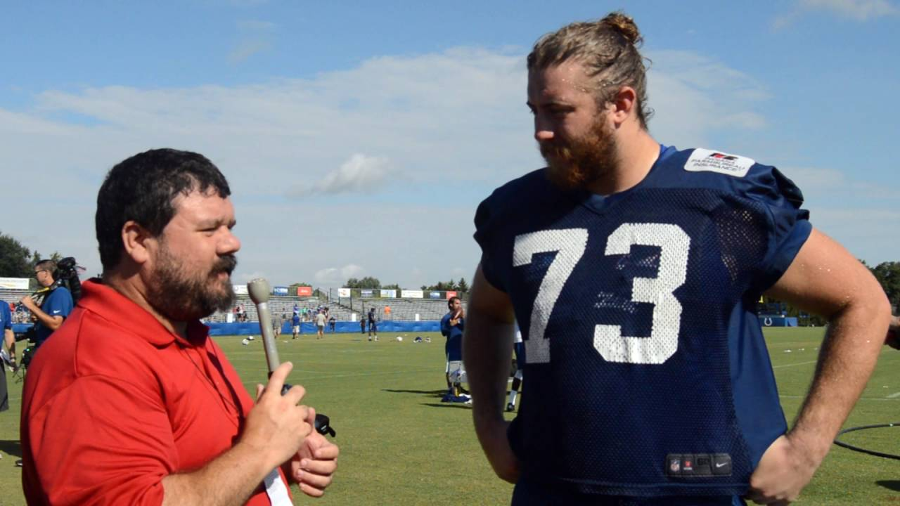 sale retailer fedf6 55425 Colts Camp Conversation with Joe Haeg