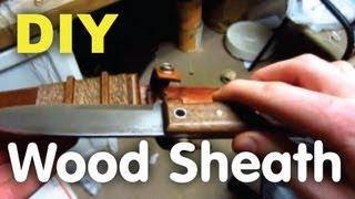 Diy Wooden Knife Sheath