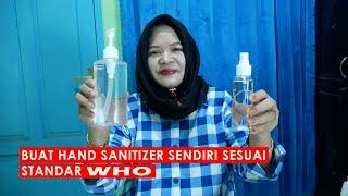 Hand sanitizer di pasaran sangat langka dan harganya melambung tinggi lebih baik kita buat sendiri sanitizernya, bahan bahanya kalian bisa dapat toko...