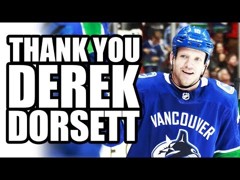 Thank You Derek Dorsett! (Derek Dorsett Forced To Retire From NHL / Vancouver Canucks Due To Injury)