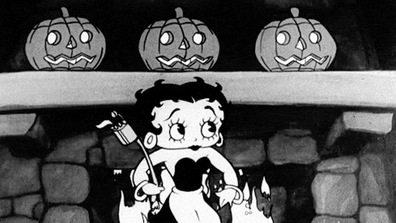 betty boop's halloween party, paramount 1933 - youtube