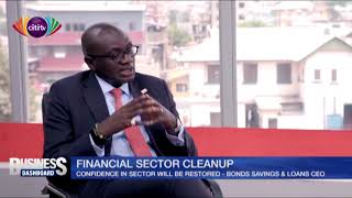 Confidence in financial sector will be restored -  Bonds Savings & Loans CEO