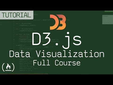 Let's learn D3 js - D3 for data visualization (full course