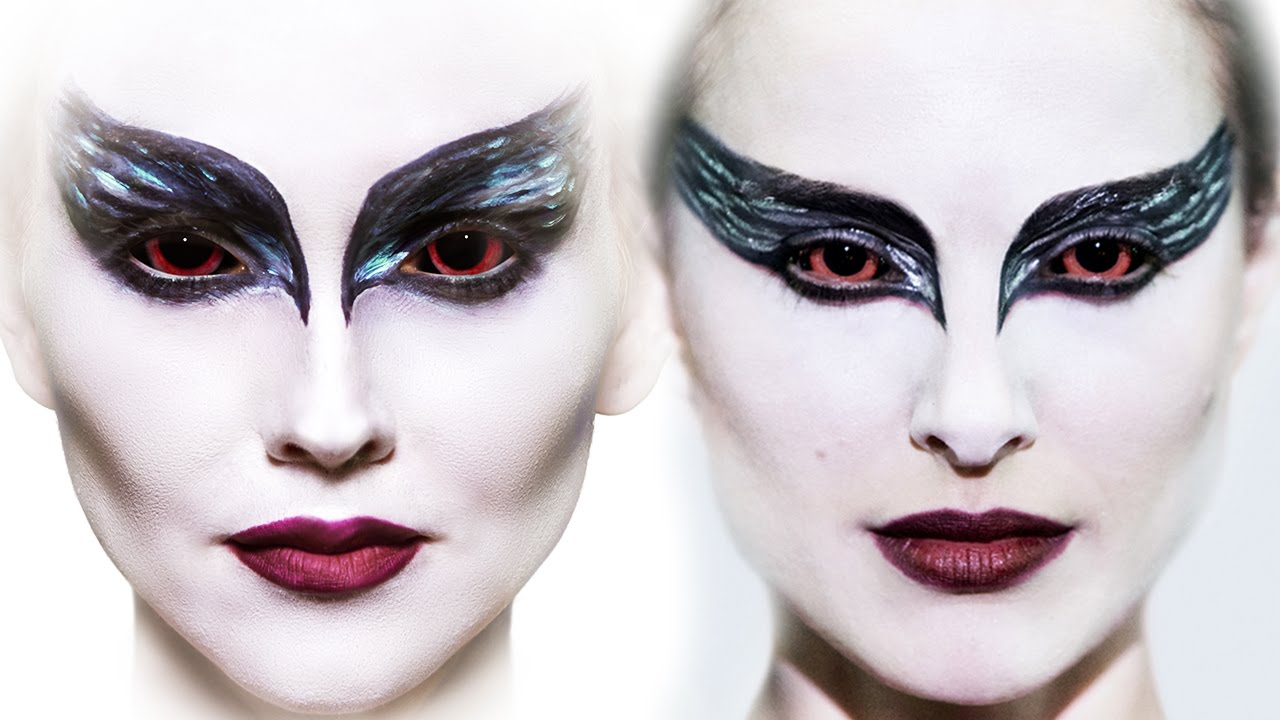 Halloween Make Up Anleitung Black Swan Make Up Tutorial