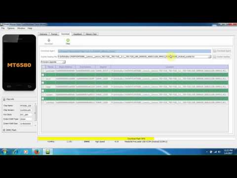 Lenovo Tab 3 TB3-710I Flashing By Smart Phone Flash Tool  - YouTube