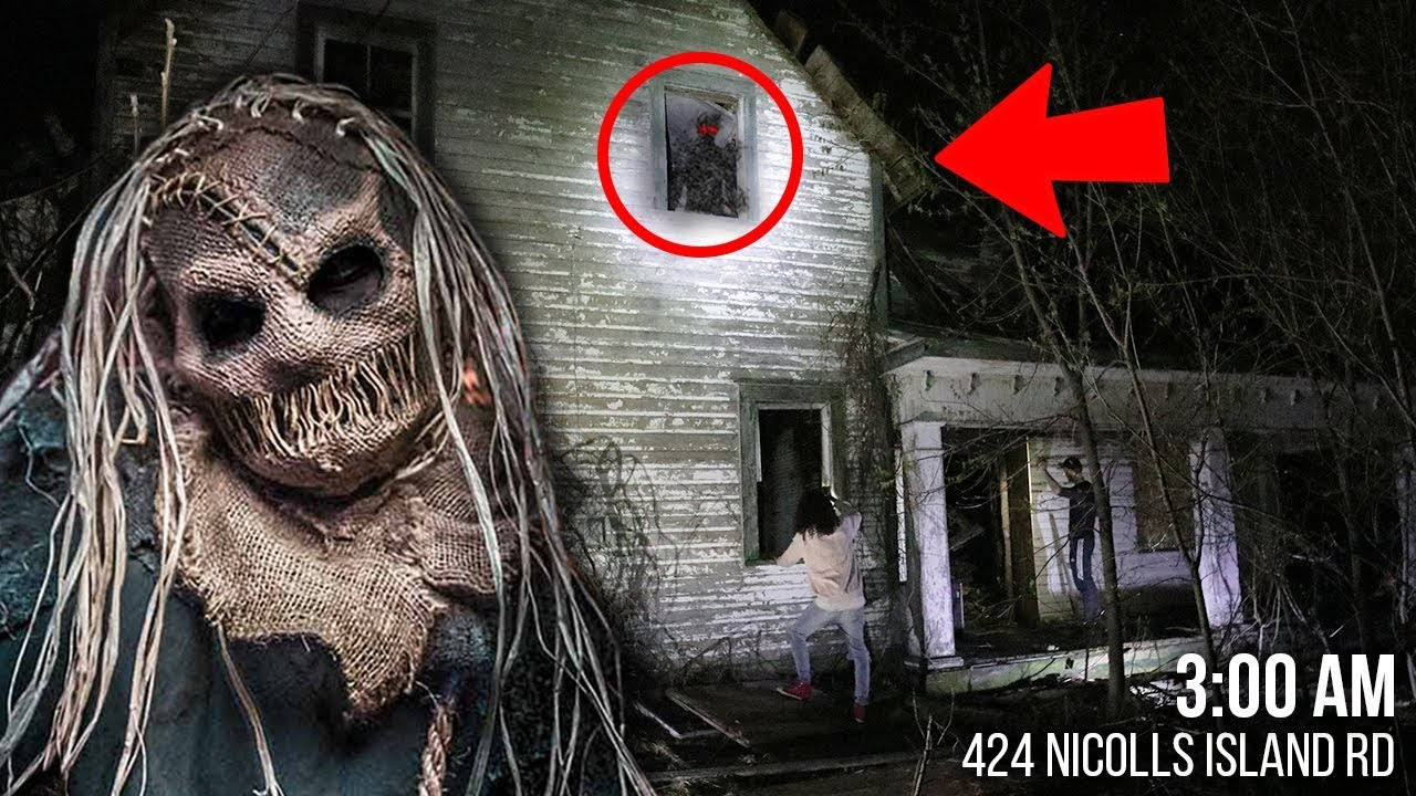 DO NOT ENTER THIS SCARY HAUNTED HOUSE AT 3 AM!! *CREATURE ...