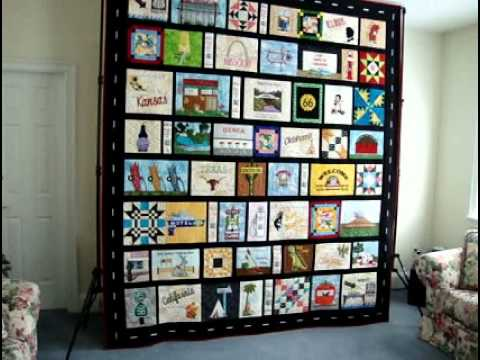 Route 66 Quilt Finished At Last! - YouTube : route 66 quilt pattern - Adamdwight.com