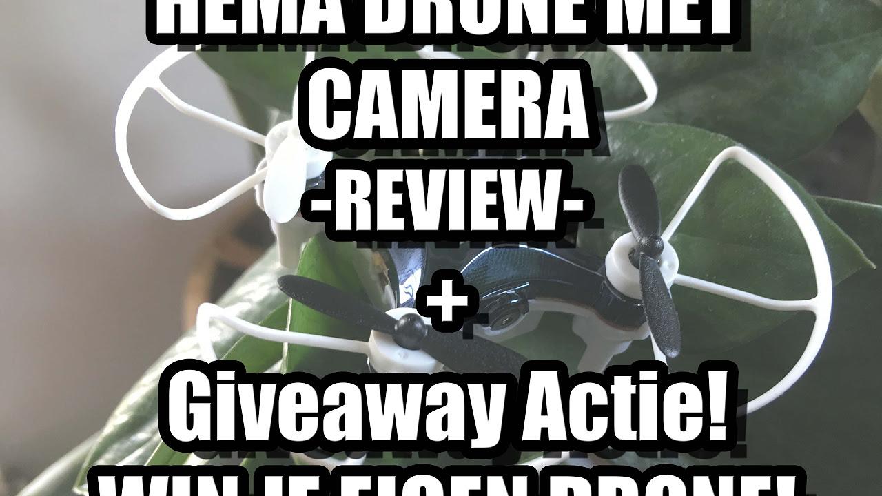 MINI CAM DRONE VAN DE HEMA  WIN ACTIE  REVIEW