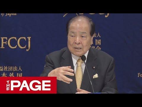 日本維新の会の片山共同代表が会見 参院選で何を訴える?(2019年7月16日)