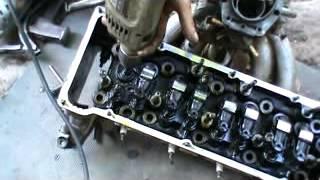 видео Замена клапанов двигателя ваз 2112 своими руками