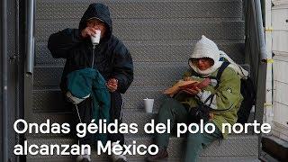 Ondas gélidas del polo norte alcanzan México - Clima - En Punto con Denise Maerker thumbnail