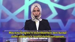 SÜMEYYE ERDOĞAN BAYRAKTAR MAS-ICNA CONVENTION 2016
