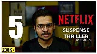 TOP 5 Netflix   Suspense Thriller Movies   2021   the review company