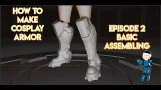 Download Video How To Make Cosplay Armor: Episode 2 - Templates and Basic Assembling - TUTORIAL MP3 3GP MP4