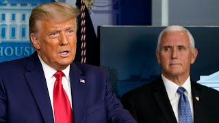 U.s. president trump turned on vice pence as his supporters gather outside the capitol building. #uspolisubscribe to ctv news watch more vi...