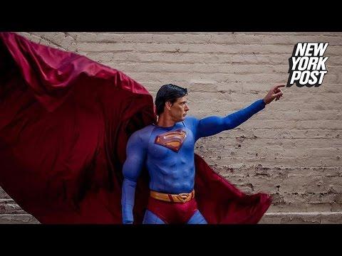 Superman transforms into homeless Clark Kent after mugging