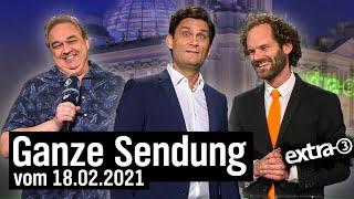 Extra 3 vom 18.02.2021 mit Christian Ehring