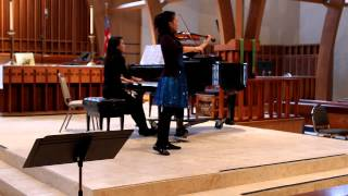 Katherine Woo wins 1st Prize at the 2014 HHSO Youth Concerto Competition thumbnail