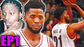 NBA LIVE 18 The One EP 1 - Wing Shooter Andre Moss Jr Takes Ankles and Shoots Threes!!!