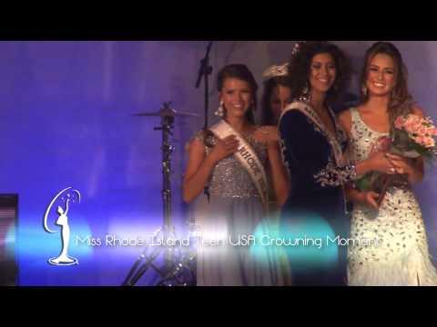 Crowning Moment Miss Rhode Island Teen USA 2015