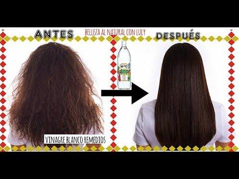 Vinagre cabello noche