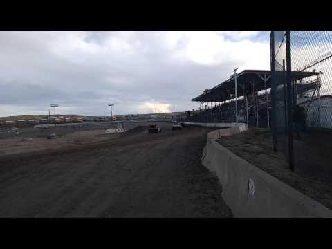 Modified car's El Paso County Speedway 4/23/16